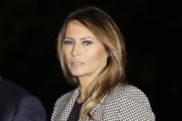 Rare incursion de Melania Trump sur la scène politique