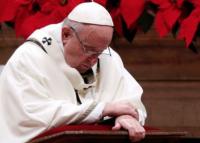 Le pape critique l'humanité, «devenue avide»