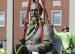 Un symbole du passé raciste des Etats-Unis déboulonné