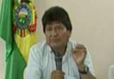 """L'ex-président bolivien """"parti par la fenêtre"""""""