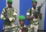 """Un jeune soldat dit au Gabonais """"réveillez-vous!"""""""