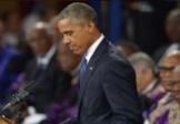 «Amazing grace», hommage d'Obama aux victimes de Charleston