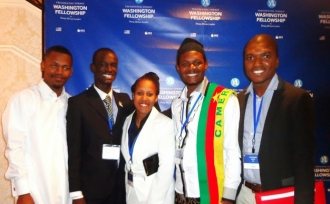 Washington Fellowship for Young African Leaders, 28 Juillet 2014