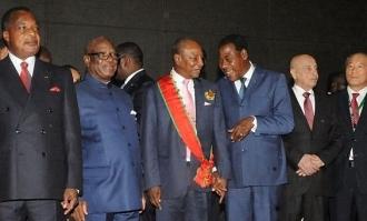 Investiture du Président Alpha Condé à Conakry, le 14 décembre 2015