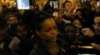 Rihanna provoque l'émeute à Paris