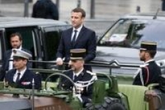 Le nouveau président de la France officiellement investi