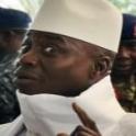 Yahya Jammeh, président sortant de la Gambie