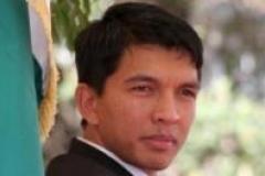Andry Rajoelina, président autoproclamé de Madagascar